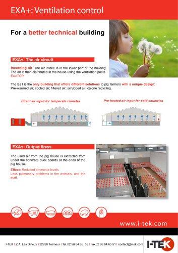 EXA+: Ventilation control