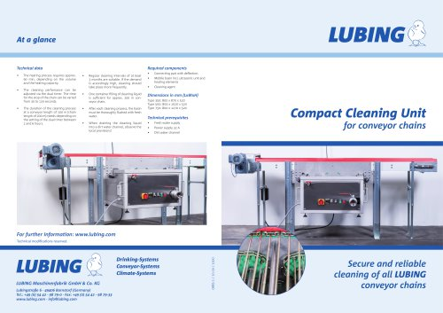 Compact Cleaning Unit