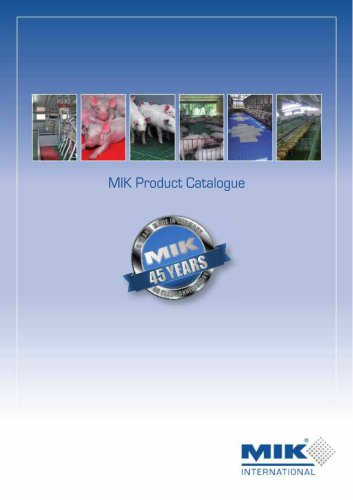 MIK Product Catalogue 2015