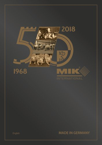 MIK Product Catalogue 2018