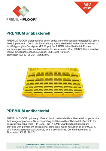 PREMIUM antibakteriell