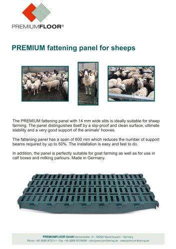 PREMIUMFLOOR Sheep brochure