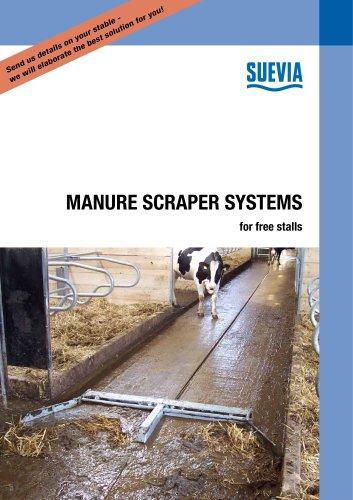Manure Scraper Systems for free stalls