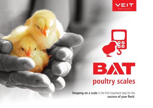 BAT poultry scales