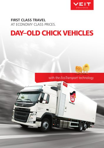 VEIT Day–old chick vehicles