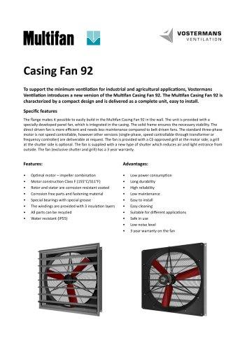 Casing Fan 92