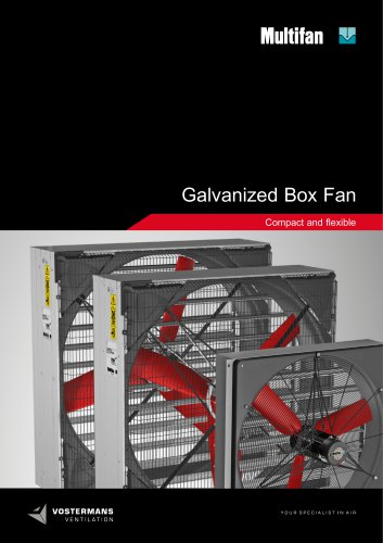 Galvanized Box Fan