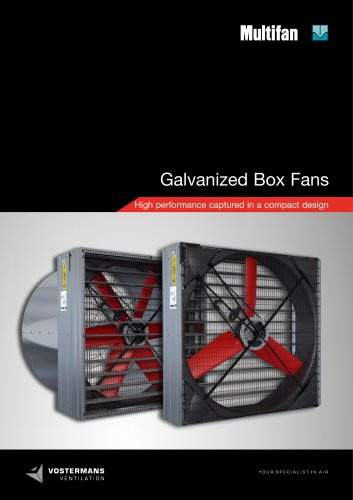 Galvanized Box Fans