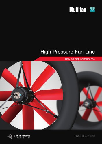 Multifan High pressure tube fan