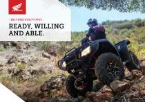 2017 REC/UTILITY ATVs