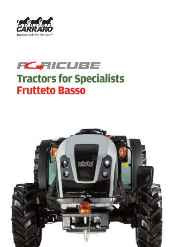 Tractors for Specialists - Frutteto Basso