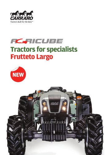 Tractors for specialists - Frutteto Largo
