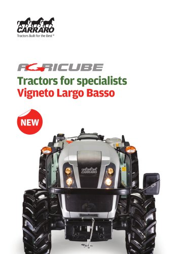 Tractors for specialists - Vigneto Largo Basso