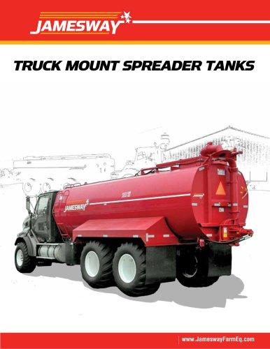 TRUCK MOUNT SPREADER TANKS