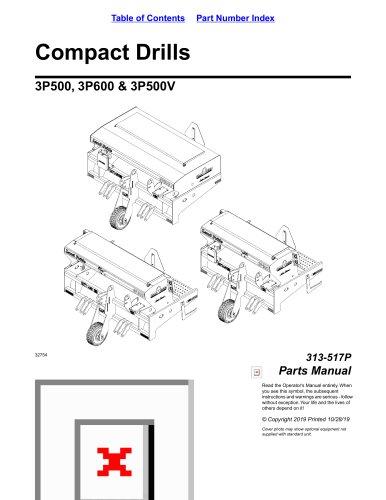 3P500, 3P600 & 3P500V