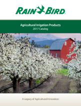 Agricultural Irrigation Products 2017 Catalog - 1