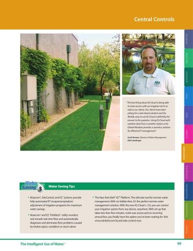 Central Controls -- 2018 Rain Bird Landscape Irrigation Products Catalog