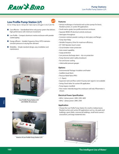 Low Profile Pump Station (LP)