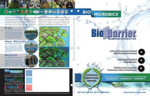 BioBarrier MEMBRANE BIOREACTOR