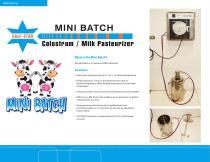 Mini Batch Colostrum Pasteurizer - 1