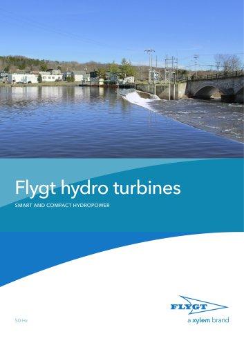 Flygt hydro turbines