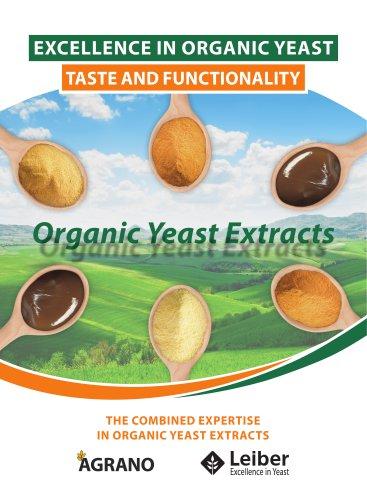 Organic Yeast Extracts