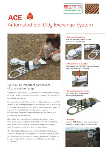 Automated Soil CO 2 Exchange System