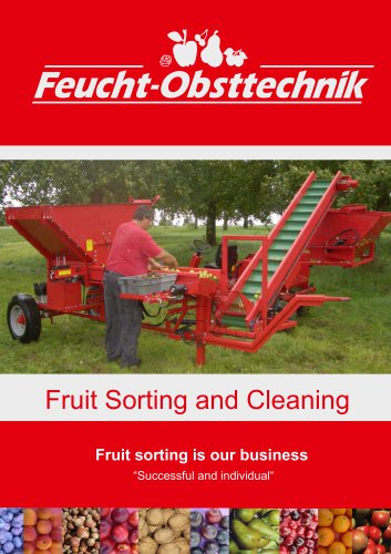 Fruit-cleaning trolley FCS
