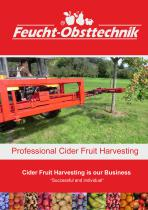 Professional Cider Fruit Harvesting