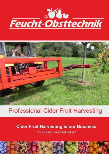 Professional fruit harvesting