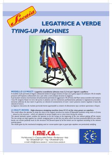 WIRE LIFTING (TYING-UP) MACHINE