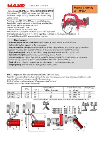 Embankment Mower PRO RBRMAC