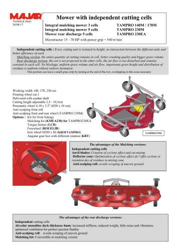 Integral Mulching Mower