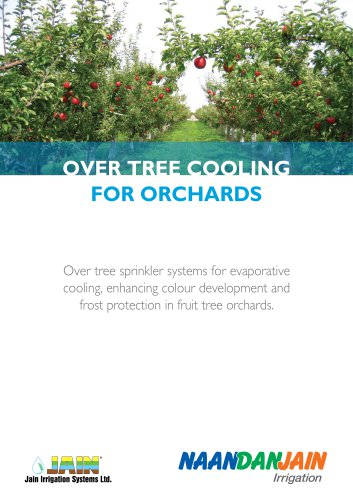 OVER TREE COOLING FOR ORCHARDS