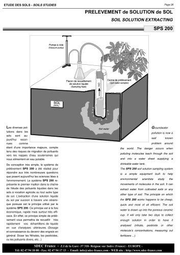 Lysimeter (porous ceramic)