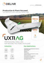 Delair UX11 AG long-distance drone and delair.ai platform. - 1