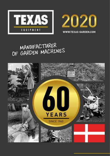 TEXAS Catalogue 2020