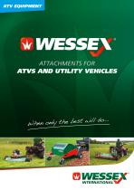 ATTACHMENTS FOR ATVS AND UTILITY VEHICLES