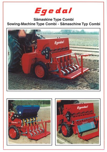Sowing machine type Combi