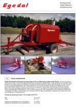 Tractor-towed stam-machine