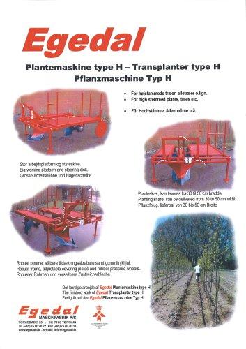 Transplanter type H