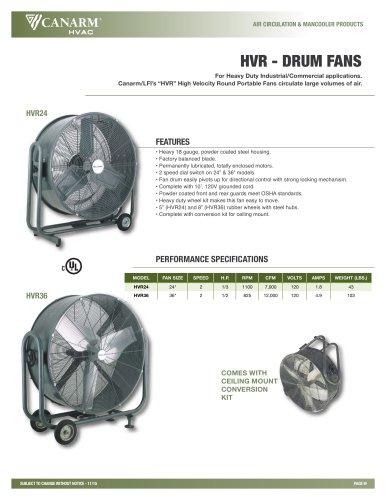 HVR DRUM Fans