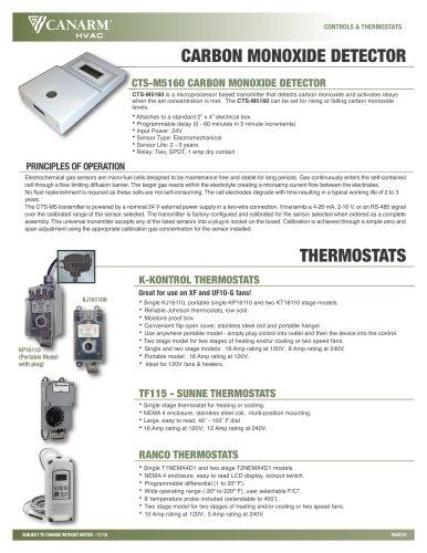 RANCO Thermostat