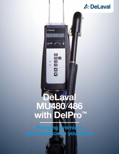 DeLaval DelPro™ MU480 milking unit