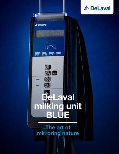 DeLaval milking unit Blue