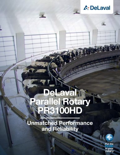 DeLaval parallel rotary PR3100HD