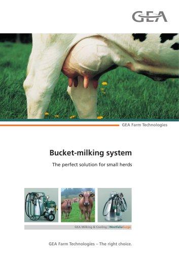 Bucket-milking system