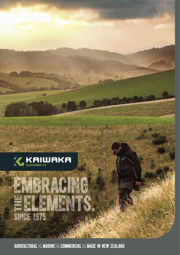 Kaiwaka Trade Brochure 2016