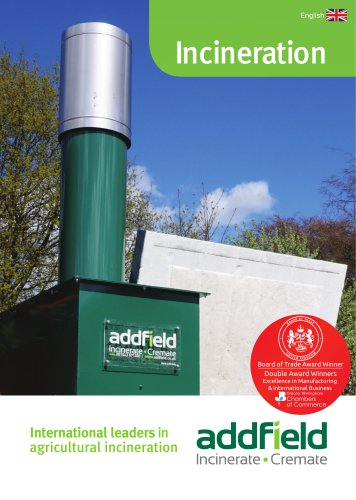 Addfield Agricultural Incineration Brochure