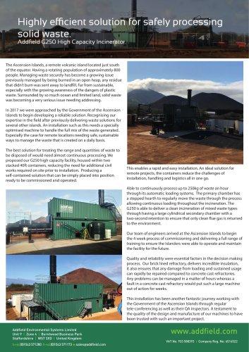 Ascension Islands Case Study